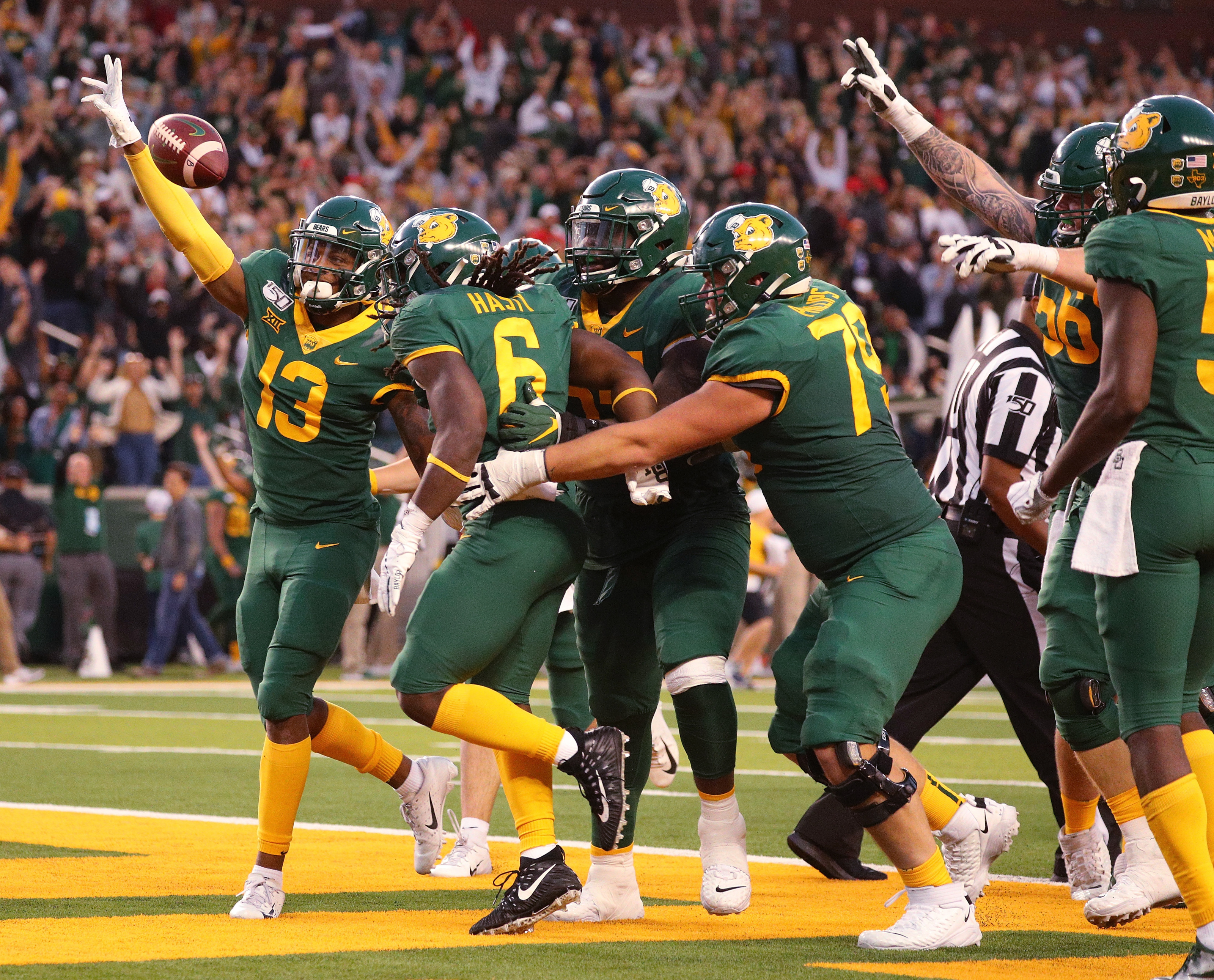 Baylor Football Aiming To Build Some Momentum Against Texas Tech