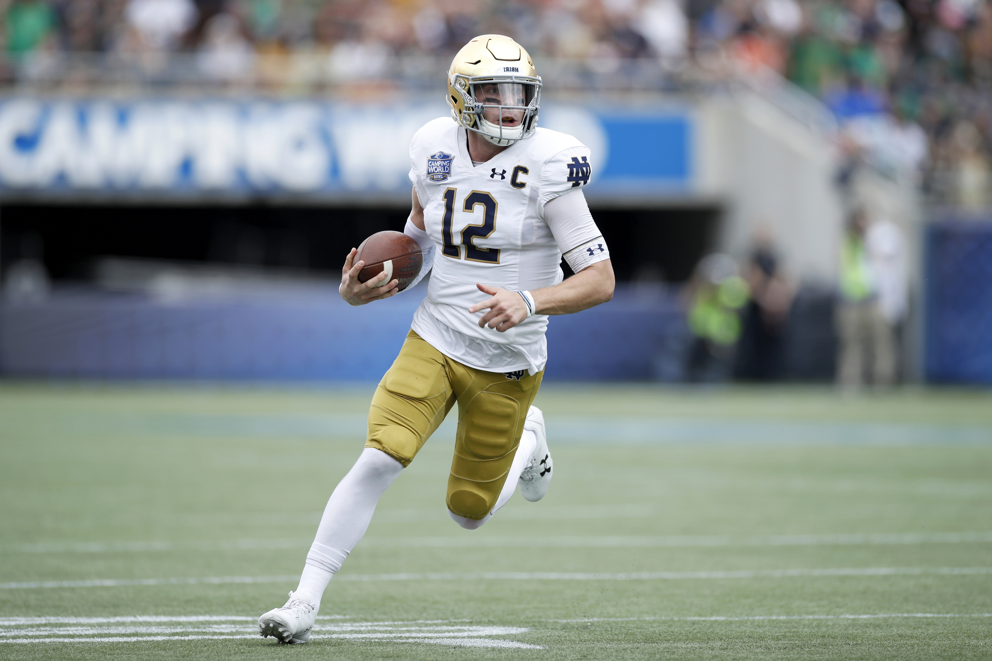 Notre Dame Football Top 3 Irish Prospects For 2021 Nfl Draft