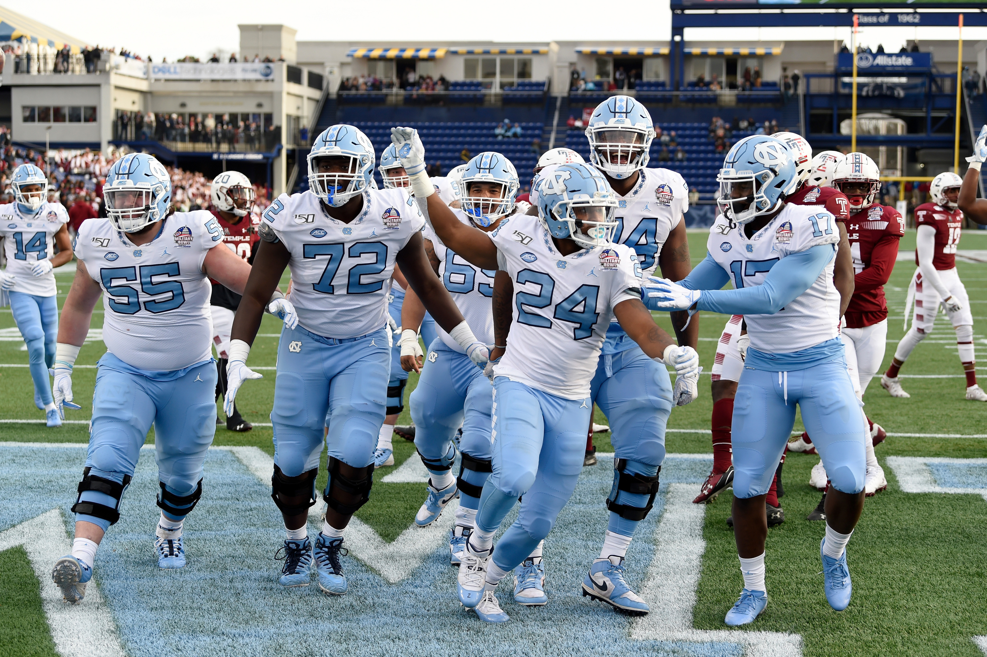 North Carolina Football Ranking 2020 Opponents By Toughness