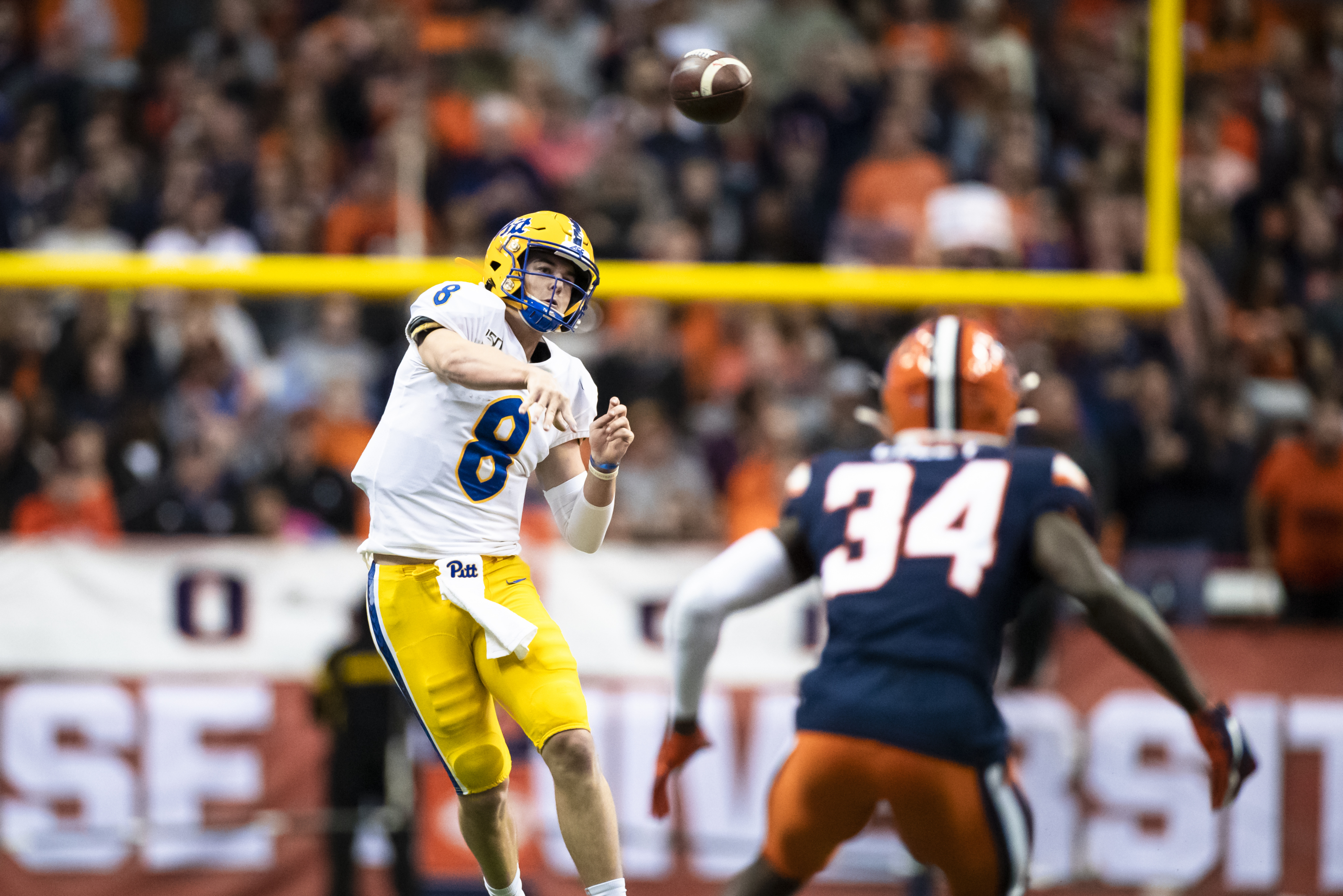 Pitt Football Looks To Continue Unexpected Rise Vs Syracuse