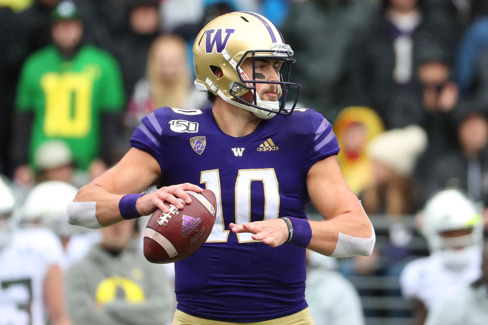Washington Football: Untapped potential will help Jacob Eason's draft stock